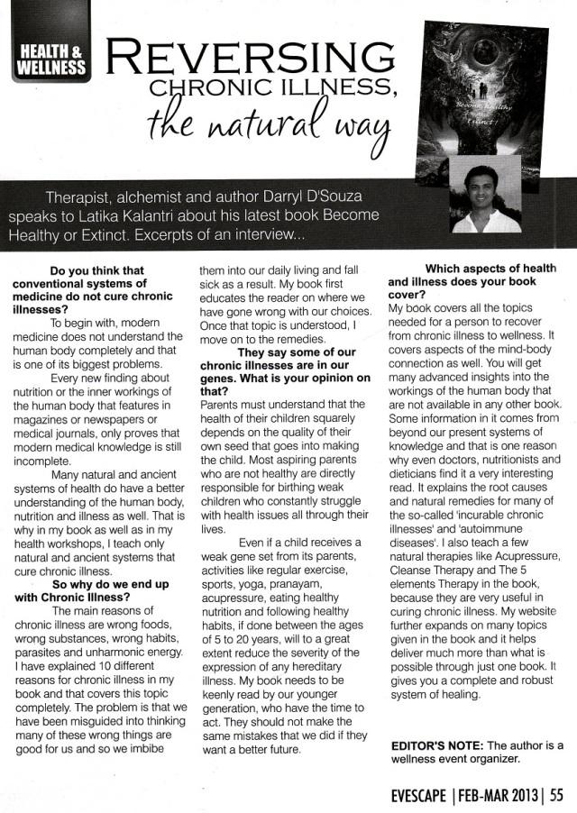 Evescape Article